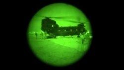 نشر ویدیوی عملیات نظامی مشترک امریکایی و افغان