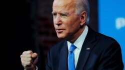 Joe Biden နဲ႔ ရီပတ္ဘလီကန္ ေခါင္းေဆာင္ Mitch McConnell ဖုန္းစကားေျပာ