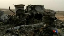 2015-11-08 美國之音視頻新聞: 埃及稱墜毀俄羅斯客機最後發出神秘聲響