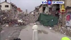 Manchetes Mundo 4 Outubro 2016: Papa faz visita surpresa, Refugiados na Europa protestam