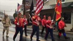 美国民间以行动向退伍军人节致敬与致谢