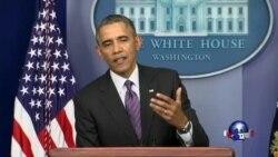 奥巴马排除军事干预乌克兰可能