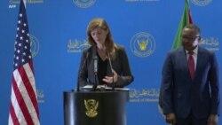"""En visite à Khartoum, Samantha Power salue """"un nouveau Soudan"""""""
