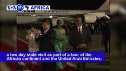 VOA60 Africa - Rwanda: President Paul Kagame welcomes Chinese President Xi Jinping