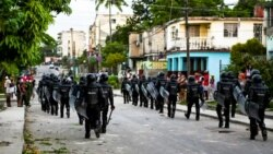 More Sanctions Over Violent Repression in Cuba