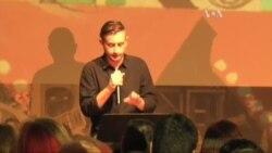 Сергій Жадан: головне не те, якою мовою ти говориш, а що ти нею говориш. Відео
