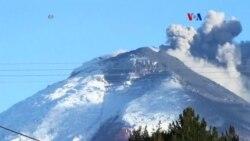 Ecuador se prepara para una posible erupción