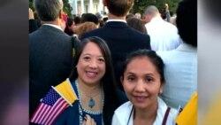 เปิดใจ 2 หญิงไทยรับเชิญจาก 'โอบามา' ร่วมพิธีต้อนรับพระสันตะปาปาในทำเนียบขาว