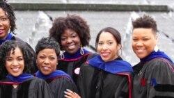 """""""姐妹圈""""为攻读博士的非裔美国女性提供支持"""