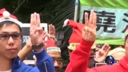香港多个团体圣诞请愿促释刘晓波