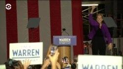 Элизабет Уоррен собрала 20 тысяч человек в Нью-Йорке