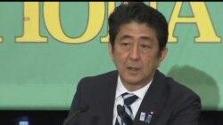 2013-07-03 美國之音視頻新聞: 日本參議院競選辯論 安倍晉三誓言振興經濟