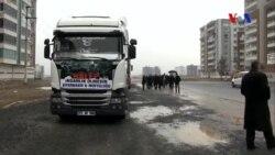 Diyarbakır'dan Halep'e Yardım Eli
