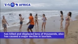 VOA60 Africa -Cameroon: Violence over the past two years has caused a major decline in tourism