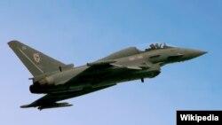Pesawat Eurofighter Typhoon 2. (Foto: Wikipedia)