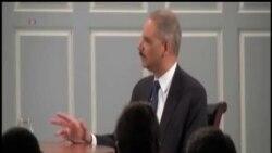 美國司法部長:願考慮與斯諾登達成控辯協議