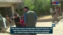 İran'dan Irak'taki Kürt Muhaliflere Roket Saldırısı