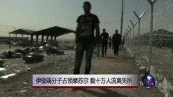 伊极端分子占领摩苏尔 数十万人流离失所