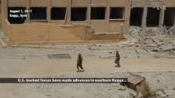 US-backed Forces Press Deeper Into Southern Raqqa City