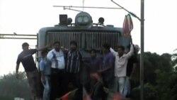 罷工導致印度部份地區癱瘓
