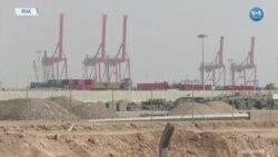 Protestocular Basra'da Limanın Faaliyetlerini Yeniden Durdurdu