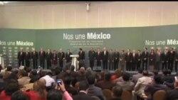 2012-12-01 美國之音視頻新聞: 墨西哥新舊總統交接權力