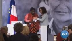 Le premier Prix Simone-Veil décerné à la Camerounaise Aissa Doumara Ngatansou