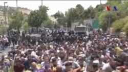 Kudüs'te Cuma Namazı Sonrası Çatışma