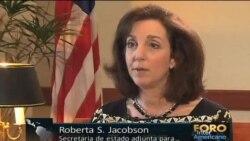"""Jacobson: """"El camino para Cuba a la Cumbre está abierto"""""""