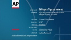 Injured treated at hospital after alleged Tigray airstrike