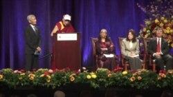 达赖喇嘛访美 宣道宗教共融与世界和平