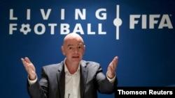 지아니 인판티노 국제축구연맹(FIFA·피파) 회장