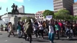 South African Students Protest Over College Fees