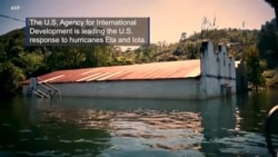 U.S. Helps Central America in Wake of Hurricanes
