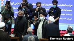 ابراهیم رئیسی در مراسم تحلیف. تهران