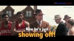 Học tiếng Anh qua phim ảnh: Show off - Phim Race (VOA)