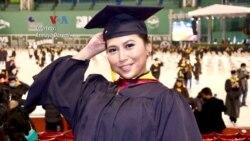 Mahasiswi Indonesia Sampaikan Pidato Kelulusan pada Wisuda Universitas Northeastern, Boston