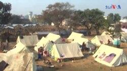 মিয়ানমার থেকে পালিয়ে এসে নির্যাতিত রোহিঙ্গা মুসলমানেরা কাশ্মীরে বসবাস করছে
