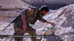 Syrian Towns Freed from IS Struggle with Landmine Removal