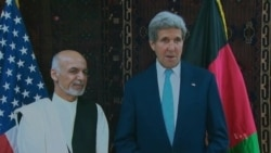 Kerry Holds Talks in Kabul About Afghan Political Crisis