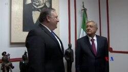 2018-08-07 美國之音視頻新聞: 墨西哥總統當選人﹕不受美墨邊界牆所威脅