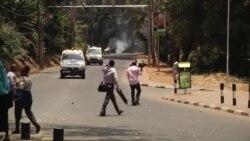 Maandamano ya wanafunzi, Nairobi, Kenya Sept. 22, 2015