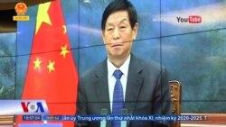 Chủ tịch Quốc hội Việt-Trung hội đàm trực tuyến