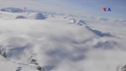 Antarktida buz örtüyünün böyük bir hissəsi əriyir
