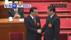 Ông Lý Khắc Cường chính thức làm Thủ tướng Trung Quốc (VOA60)