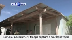 Somalia: Government troops capture a southern town from al -Shabab insurgents VOA60 Africa 07-24