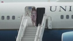 U.S. First Lady Melania Trump in Ghana