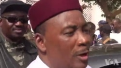 Le président Issoufou a voté à l'Hôtel de Ville de Niamey