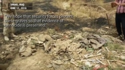 Yazidi Mass Graves Subject to Depredation by Animals, Weather, Even People